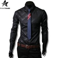 Wholesale China Coat Designs - Wholesale- New Arrival Men's Fashion Shirts Formal Dress Men's Clothing Brand Design From China High Quality Fashion Autumn Coat SC667