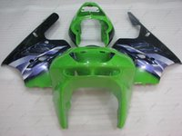Wholesale 95 Zx9r Fairings - Body Kits Zx 9r 1995 Plastic Fairings for Kawasaki Zx9r 94 95 Green Black ABS Fairing Zx-9r 1994 1994 - 1997