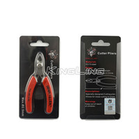 Wholesale Steel Cutting Nipper - Demon Killer Cutter Pliers Steel DIY Tools Flush Nipper Mini Clamp Cutting Shears Tool For Coil Wick Wire Rebuildable Atomizer RDA RBA