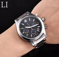 Wholesale Master Collection - Men's Luxury Stainless Steel quartz Movement Classic Master Collection L1 L2 Watch All pointers work