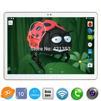 "Wholesale Android Tablet Unlocked Gps - Wholesale- DHL Free Shipping 10 inch Android 5.1 Tablet PC Ocat Core 4GB RAM 32GB ROM 1280*800 IPS 3G Unlocked Phone Tablet PC 10"" +Gift"