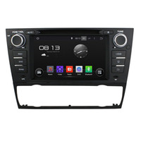 Wholesale Dvd Bmw E92 - Fit BMW E90 Saloon E91 Touring E92 Coupe E93 Cabriolet AT Android 5.1.1 1024*600 HD car dvd player gps radio 3G wifi BT dvr OBD2 FREE MAP