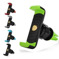 Wholesale Mini Portable Air - Mini 360 Rotating Car Air Vent Mount Mobile Smart Phone Upgrade Portable Holder Handfree For iPhone 7 plus Samsung S8