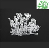 Wholesale Spring Paper Cuts - Metal cutting dies petunia flowers spring for card Scrapbook album paper craft embossing stencils morning glory garden