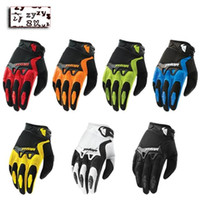 Wholesale Motorcycle Colours - THOR gloves bicycle motorcycle gloves seven color dazzle colour cycling sports car racing gloves