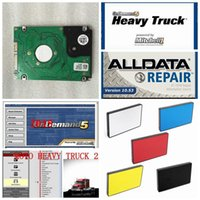 Wholesale Alldata Heavy Trucks - 2017 Automotive Software new 10.53v Alldata and mitchell ondemand 2015 repair software for car and heavy truck 47in1 1tb new hdd alldata