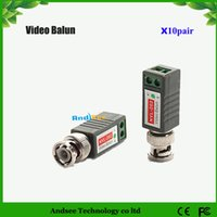 Wholesale Cctv Surge Protection - New Video Balun for CCTV Passive UTP With PCB Design Interference Rejection and Surge Protection KA2C20 Free Shipping