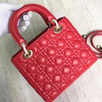 Wholesale Sheep Small - Classic style women sheep leather totes handbags shoulderbags 24cm size free shipping high quality hot selling in 2017 retail and whosale
