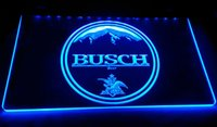 Wholesale Busch Signs - LD057-b-BUSCH-beer-Neon-Light-Sign Decor Free Shipping Dropshipping Wholesale 6 colors to choose