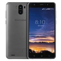 Wholesale Android Gps 2mp - Blackview R6 Lite Android7.0 5.5inch 3G Smartphone MTK6580A Quad Core 1GB RAM+16GB ROM 2MP+8MP Dual Rear Cameras 3000mAh Mobile Phone