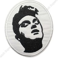 """Wholesale Rock Smith - 3.5"""" Morrissey The Smiths Bona Drag Music Band Embroidered Iron On Patch Tshirt TRANSFER MOTIF APPLIQUE Rock Punk Badge"""