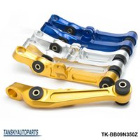 Wholesale Lower Control Arm Silver - TANSKY -CNC Billet Upgrade bushing Front Lower Control Arm For Nissan 03-07 350Z For Infiniti G35 Blue Silver Gold TK-BB09N350Z