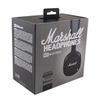 Wholesale Mid Wireless - Black Marshall MID headphones Bluetooth On-Ear Headphones Headset AAA quality