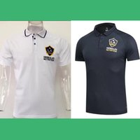 Wholesale Soccer Jersey Galaxy - POLO SHIRTS LA GALAXY 2017 CUSTOMIZED soccer uniform kits soccer jerseys thai quality thailand quality football shirts kit