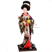 muñecas tang al por mayor-Envío gratis Tang Fang kimono de seda decoración decoración artesanía muebles para el hogar muñeca humanoide