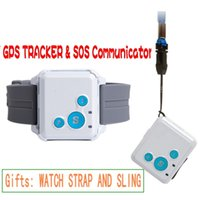 Wholesale Gps Phone Smallest - V16 Mini GPS Tracker Smallest Size Real-time GPS Tracker SOS Communicator for Kids Child Elders with Long Standby Time Ann