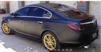 Wholesale Glue Foils - 1.27*0.5M Matte Material Car Wrapping Foil,Black Matte Car Wrap Film Air Channel