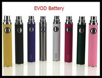baterías evod al por mayor-Batería de ASD-30 eVod para el cigarrillo electrónico 650/900 / 1100mAh evod baterías muchos colores para la opción cabida para los atomizadores de ce4 vivi DCT mt3 t3s