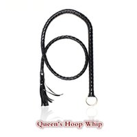 Wholesale Bdsm Whip Leather - Flogger Long Whip Leather 1.4m with hook flirting Whip fetish spanking bdsm sex toys adult products for couples women sm games