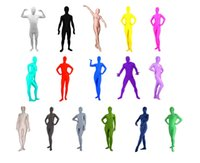 Wholesale Unitard Costume Sexy - Spandex Lycra full body jumpsuit unitard leotard zentai morph catsuit clothing costume cosplay suit bondage leotard