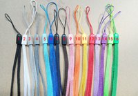 Wholesale Long Lanyards For Cell Phones - Universal Lanyards Neck Lanyard Long Straps Nylon Hang Rope for MP3 Mp4 Holder Mobile Phone Cell phone 1000pcs
