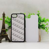 Wholesale Sublimation Plating Case Iphone - DIY 2D Sublimation Heat Press TPU PC case For iphone 7 Plus 6 6S Plus 5S Galaxy S6 S7 edge Cover Case With Aluminium Plates