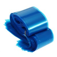 Wholesale Disposable Sleeves - 100Pcs Clip Cord Sleeves Bags Disposable Covers for Tattoo Machine Plastic Blue W3988