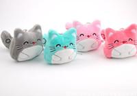 Wholesale Medium Size Plush Toys - NEW HOT 4Colors , Kawaii My Neighbor TOTORO Plush Toys - Medium SIZE 9CM Totoro Stuffed Gift Plush Party totoro Cat Toys