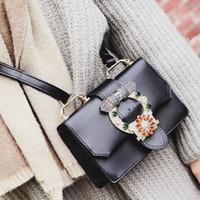 Wholesale Brand Name Messenger Bag - cheap luxury woman famous name brand bag leather designer shoulder handbag bags crossbody messenger bag clutch satchel purse free ship
