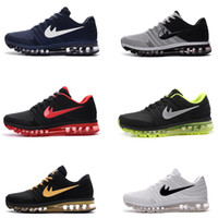 Wholesale Red Light Products - High quality New Running Shoes Air Cushion 2017 Men Women Vapor Product Hot Sale Breathable Sports Shoes Sneaker US 7-11 Free shipping