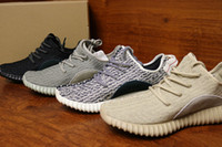 Wholesale m shapes - DHL free With 2016 Correct Version Pirate black 350 Shoes ,Wide Bottom Good Shape Shoes size 36-47