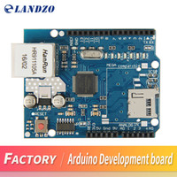 Wholesale Arduino Ethernet Shield Mega - 1pcs Arduino Shield Ethernet Shield W5100 R3 UNO Mega 2560 1280 328 UNR R3 W5100 Development board