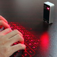 Wholesale Mobiles Keyboard - Wireless Bluetooth Air Laser Virtual Keyboard For Mobile Phone Tablet PC Laptop