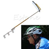Wholesale Butterfly Rearing - Wholesale- Mirror Helmet Rearview Rear View Eyeglass Safety