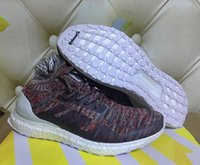 Wholesale Womens Nipples - Real picture Very Popular 2017 newest womens and men Kith Ultra Boost Mid 1 Multicolor shoes with nipple top quality 2018 sneaker size 36-45