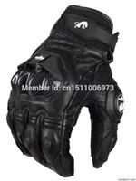 gants de moto pour hommes achat en gros de-Vente en gros - Livraison gratuite AFS 6 cuir Racing Racing Gants Hommes Moto Gants De Protection Highway Gloves