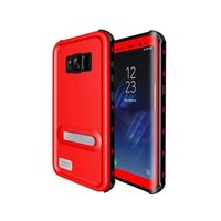 Wholesale Wholesale Red Peppers - For Samsung S8 S8 Plus Red Pepper IP68 Waterproof Snowproof Dropproof Dirtproof Shockproof cell phone Cases Multi-Level Protection Case 20pc