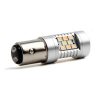 Wholesale 1157 Dual Color Bulb - led bulbs for cars 1157 Dual-Color Switchback 28-SMD LED Turn Signal Bulbs New