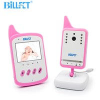 Wholesale- Home Audio Vidéo Baby Monitor 2.4GHz Caméra vidéo portable sans fil Lullaby Alimentation Alarme NightVision VOX Baby Radio Baby Phone