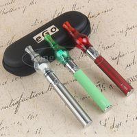 Wholesale Ego Glass Dome - E Cig eVod eGo Wax Oil Glass Globe Dab Pens Dome E Cigarette Vaporizer Pen Kit