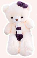 Wholesale Teddy Bear Couple Stuffed Animals - 2017 New Hot Winter Cute Affordable Soft Hygiene Couple Scarves Stuffed Animals Doll Toys Teddy Bear