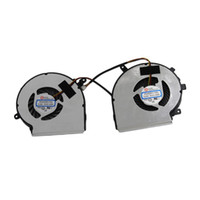 Wholesale Msi Cooler - Wholesale- laptop notebook CPU Cooling Fan fit For MSI GE62 series ( L+R) Cooler pad