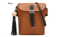 black square bucket - Huapin2017 The latest ladies shoulder tassel phone bag Casual fashion mini ladies small square bag Simple and convenient ladies bag free del