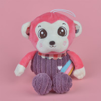 Wholesale Monkeys Toys Brands - 35-45cm Pink Color Rainbow Monkey Brand New Soft Stuffed Aniamls Plush Toy, Baby Kids Brithdat Party Doll Gift Free Shipping