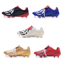 Wholesale Original Leather Soccer Boots - 2017 best Predator Mania Champagne FG mens soccer cleats shoes boots, cheap original performance ACE 17+ Mens football shoes boots