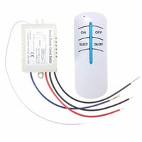 Wholesale Wireless Lamp Way - Hot Sale 1 Way Digital RF Remote Control Switch ON OFF Wireless Kit For Bedroom Light Lamp 300W 220V