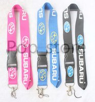 Wholesale Car Key Cell Phones - Car series. About Subaru's Lanyard KEY Chain neck lanyards Cell Phone Straps Charms ID Holder.