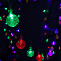 Wholesale Lights For Outdoor Ornaments - 10M 100LED Outdoor String Lights High Quality LED String Lights For Outdoor And Indoor Decoration Garland Party Christmas Ornaments
