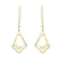 Wholesale White Gold Square Hoops - Wholesale 10Pcs lot 2017 Newest Fashion Big Hoop Earrings Square Studs 18K Gold Earrings For Women Cute Tiny Bird Stud Earrings 925 Silver
