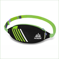 Wholesale Football Weights - Wholesale-RWS03 Light weight Breathable Running Belt Pouch Men and women Running Waist Pack Bag For Running Cycling Outdoor